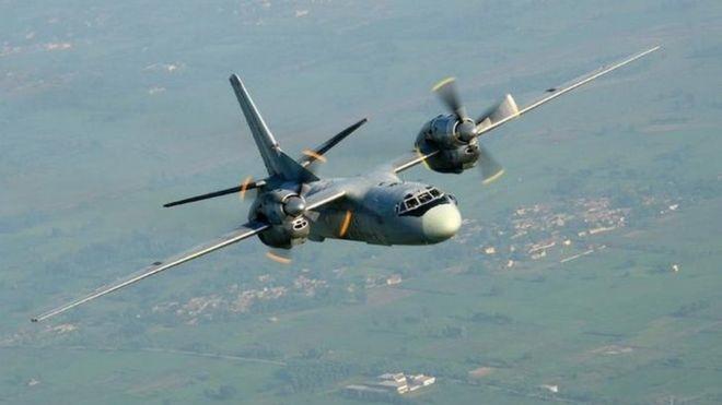 یک فروند هواپیمای نیروی هوایی هند با ۲۹ سرنشین ناپدید شد