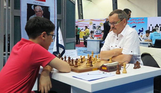 جام ستارههای شطرنج/ انزلی؛ مقصودلو در رده دوم جدول جای گرفت