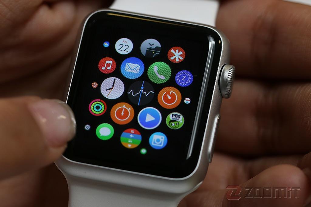 کاهش ۵۵ درصدی فروش ساعتهای اپل
