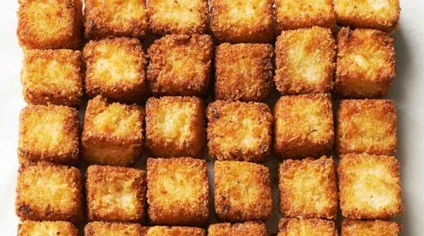 لقمههای ماکارونی و پنیر