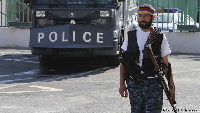 پایان گروگانگیری در ارمنستان با آزادی بقیه گروگانها