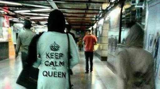 بوق نزن، ملکه خستهست