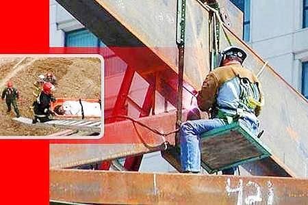 مرگ ۳۵۰ تن بر اثر حوادث کار در کشور طی ۳ ماه