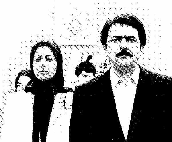 مسعود و مریم رجوی-منافقین