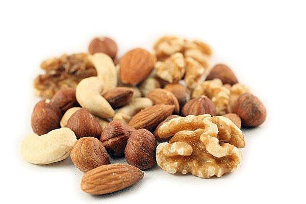 فواید خوردن آجیل و کاهش ریسک بیماری قلبی