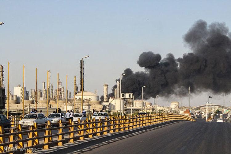 پتروشیمی بوعلی ماهشهر بازهم آتش گرفت | ۹ نفر مصدوم شدند