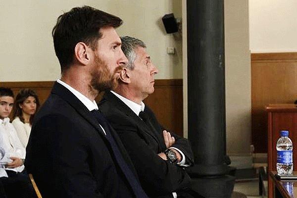لیونل مسی به اتهام فرار مالیاتی به ۲۱ ماه زندان محکوم شد