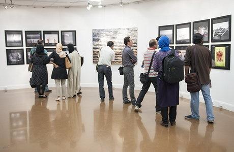 برپایی نمایشگاه نقاشی بهمناسبت روز خبرنگار