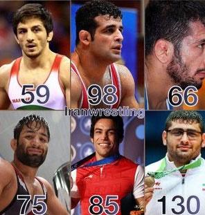 بیوگرافی و شرح مختصری از افتخارات فرنگیکاران المپیکی ایران