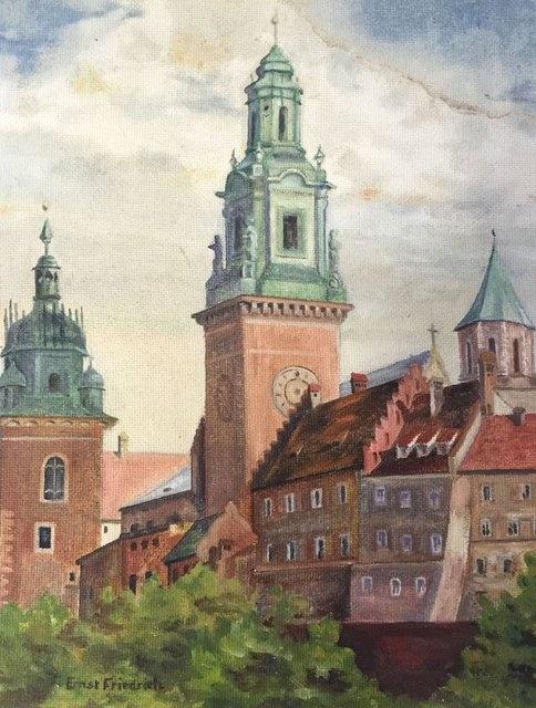 چوب حراج بر سر نقاشی هیتلر