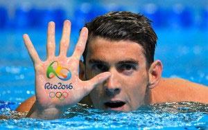 خداحافظی باشکوه فلپس از المپیک با کسب ۲۳ مدال طلا