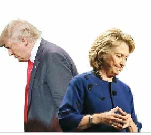 خرج انتخاباتی کلینتون دو برابر ترامپ