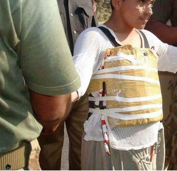 Child-suicide-bomber