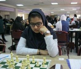 صدیقه کلانتری قهرمان جشنواره سراسری شطرنج بانوان کشور شد