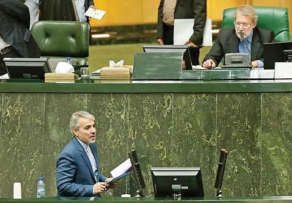 دفاع محمدباقر نوبخت از لایحه دولت در صحن علنی مجلس