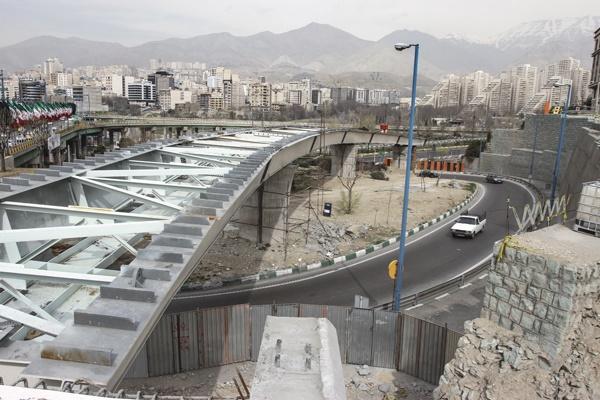پیشرفت ۸۵درصدی پروژه پل تقاطع نیایش و شهید چمران