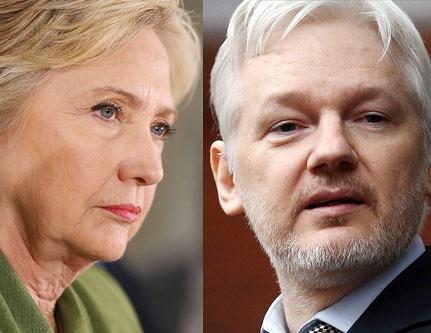 Assange hillary