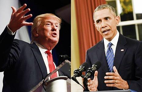 حمله تند اوباما به ترامپ: شایسته نیستی