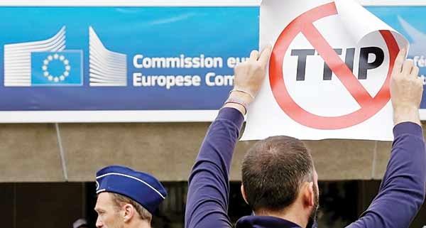 تنش تجاری اتحادیه اروپا با آمریکا