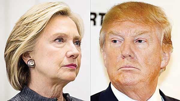 انتخاب آمریکاییها میان ۲ شیطان
