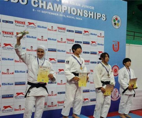جودو قهرمانی نوجوانان آسیا/ هند؛ مریم بربط نقرهای شد، پسران ایران چهار برنز کسب کردند