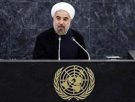 روحانی در سازمان ملل سخنرانی میکند