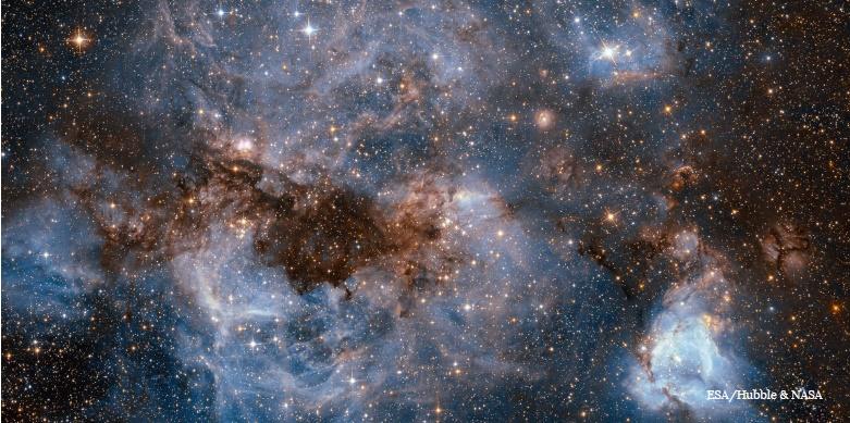 نمایی خیرهکننده از محل تولد ستارگان