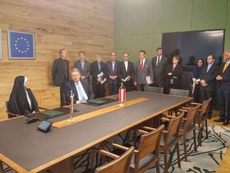 ایران و اتریش در زمینههای زیست محیطی سند همکاری مشترک امضاء کردند