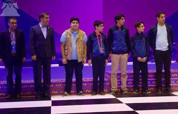 بهترین نتیجه تاریخ شطرنج ایران در المپیاد جهانی/ تیم ملی ایران قهرمان گروه B  شد