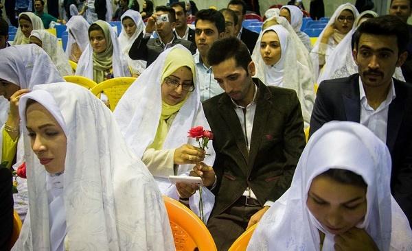 ثبتنام بیش از ۲ هزار زوج در مراسم ازدواج دانشجویی