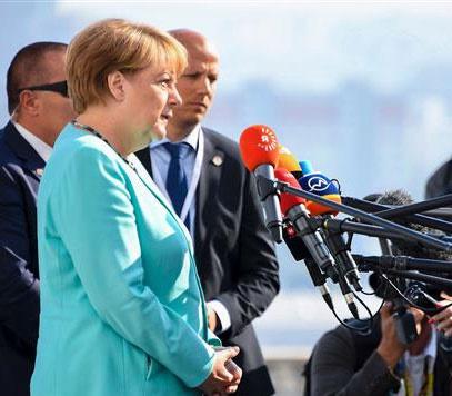 صدراعظم آلمان: وضعیت اتحادیۀ اروپا بحرانی است