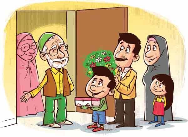 وقتی مادر شوهر از سادات است