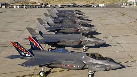 نقص فنی جنگنده های اف-۳۵ آمریکا را زمین گیر کرد