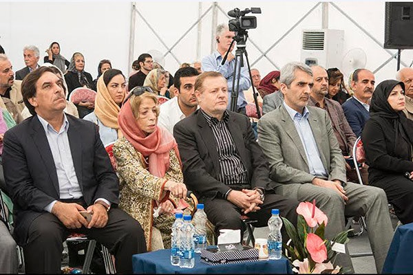 کلنگ موزه ایران درودی زمین زده شد