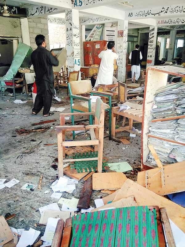 وکلای پاکستان هدف حملات تروریستی