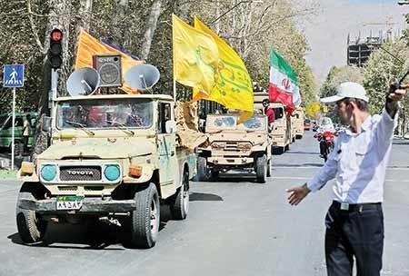 تهران رنگ سالهای دفاعمقدس میگیرد