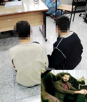 دزدان پس از قتل محمدعلی  از طلافروشی سرقت کردند.
