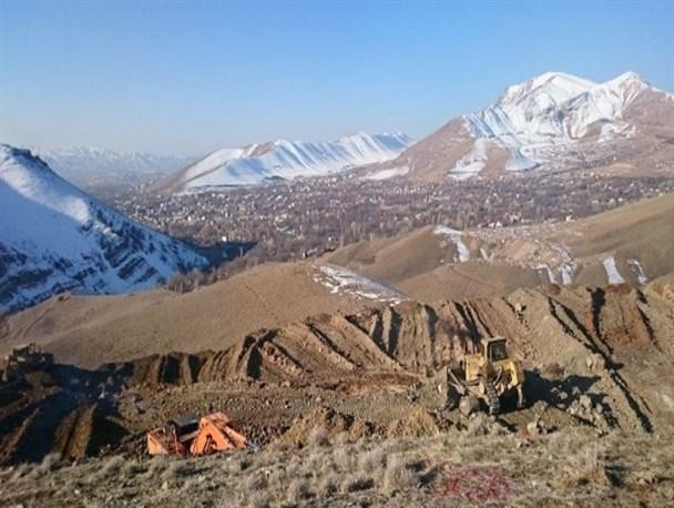 تخریب کوه دماوند با توجیه گازرسانی به روستاهای لاریجان