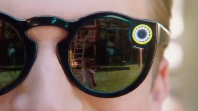 ساخت عینک آفتابی دوربیندار توسط اسنپچت