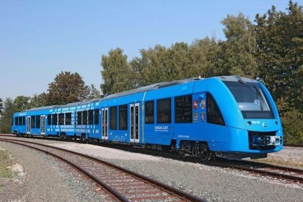آغاز به کار اولین قطار هیدروژنی جهان در آلمان