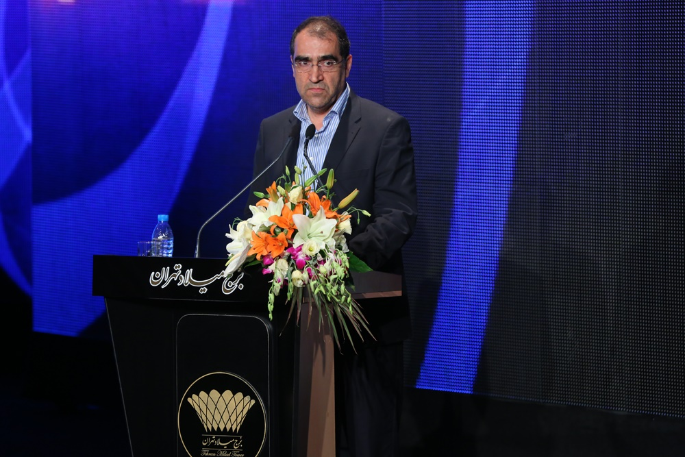 وزیر بهداشت در مراسم بزررگداشت پیوند اعضا