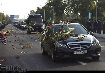 وداع ازبکستان با کریم اف
