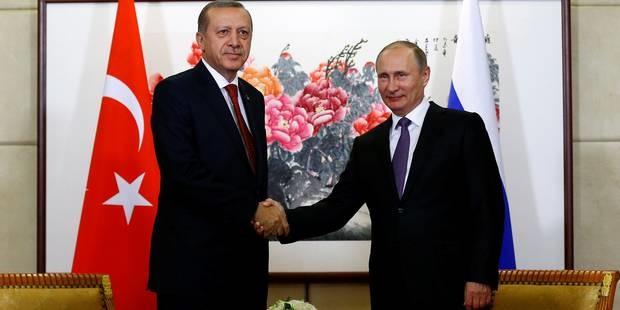 رایزنی های گسترده میان رؤسای جمهور روسیه و ترکیه