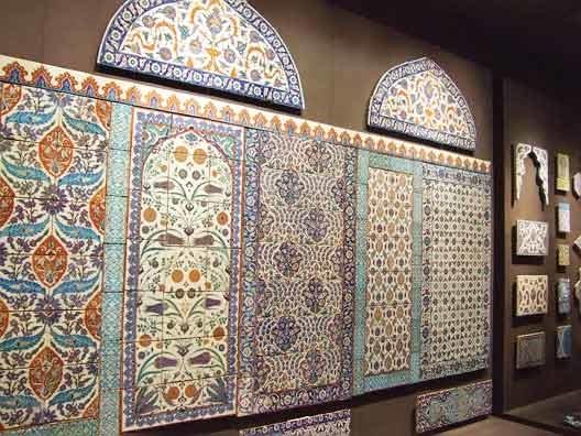 کاشی دوران اسلامی