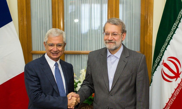 رئیس مجلس ایران و فرانسه