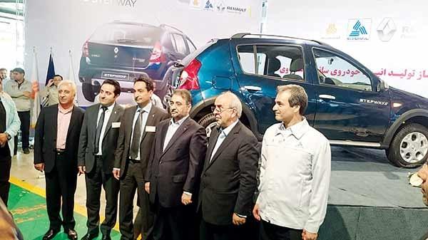 رونمایی از خودروهای جدید فرانسوی در ایران