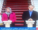 لاریجانی: راه حل سوریه سیاسی است