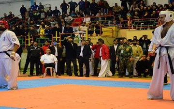 مسابقات کاراته کشوری سبک آشی هارا و سبک سبک گوجوکای jkf برگزار شد