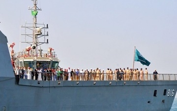 عربستان در آبهای خلیج فارس رزمایش دریایی برگزار میکند