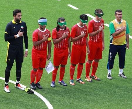 گفتگو دوست داشتنی با فوتبالیست های پارالمپیکی ایران